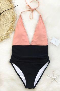 Cupshe Fragrant Memory Halter Bikini Set