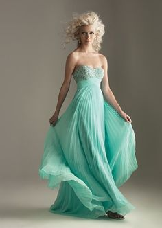 @Adeline Cunningham Sweetheart beading bodice A-line chiffon gown for girls $149.. other colors optional