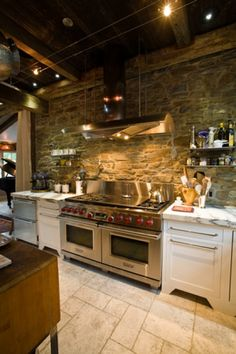 Brick arch over stove kitchens pinterest brick arch for Kitchen cabinets quakertown pa