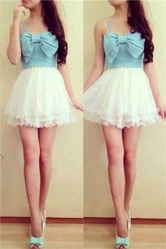Pretty Cute Girly Short Handmade Classy Homecoming Dresses K302