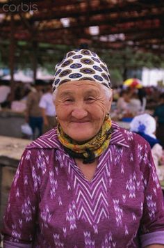 Portrait of a Market Trader, Samarkand, Uzbekistan