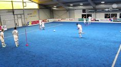 FC Barcelona - Pass and Sprint Drill