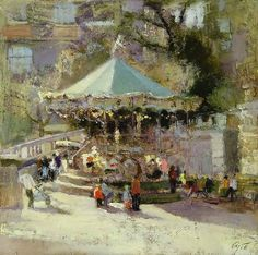 A Montmartre by Russian Artist Andrey Aranyshev