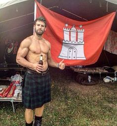 This strong, positive man, who will let you roam free to pursue your dreams. | 19 Hot Scottish Guys In Kilts Who Want To Soothe Your Battered Soul