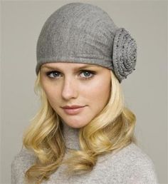 Winter hat!  Classy with a pea coat!