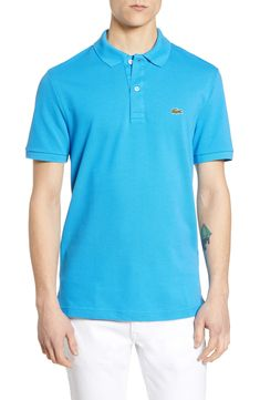 529f287c Men's Lacoste Slim Fit Piqué Polo, Size 6(xl) - Yellow. Lacoste MenPolo  Ralph LaurenSlimPique