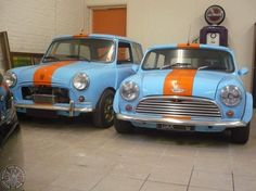 It doesn't get much better than a Gulf Racing themed Modified Monday Mini Sprint does it folks? Well, unless said Sprint is parked up with a matching Gulf Racing themed Saloon that is!