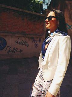 Between the Venetian streets in Blu de gene jumpsuit. # #jumpsuite #Venece #Fashion #summercollection
