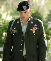 YES please!!!!channing tatum in army uniform nothing gets better then this!