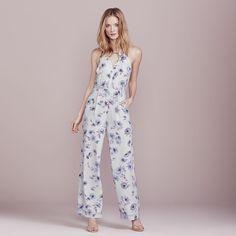 LC Lauren Conrad Dress Up Shop Collection Jumpsuit - Women's, Size: 16, Light Grey