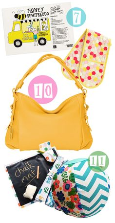 Win a beautiful yellow handbag and some Mozi products to brighten the kitchen on the blog now.