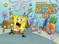 SpongeBob Moves In App #spongebob #movesin #app #freeappsking #itunes #googleplay #freeapps #kids #games #apps #nickelodeon #games #kidsgames