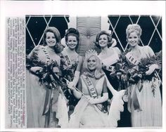 1969 Dascomb Wendy Miss USA top 5