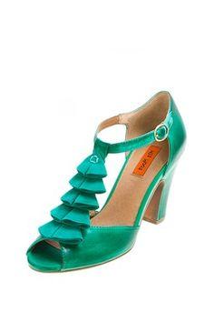 Sailor T-Strap Heel