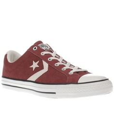 Converse Burgundy Star Player Ox Mens Trainers We ve got a real Player on our hands, using its magic on Converse fans. The Converse Star Player Ox is a retro silhouette made with a rich burgundy upper featuring cream chevron and star branding on t http://www.MightGet.com/january-2017-13/converse-burgundy-star-player-ox-mens-trainers.asp