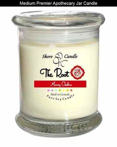 The Root Chakra Soy Candle