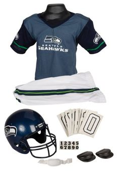 NFL Seattle Seahawks Deluxe Youth Uniform Set