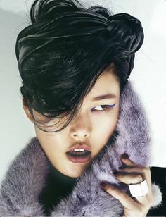 Chen Yu by Nick Dynamo for Numéro China #29 May 2013