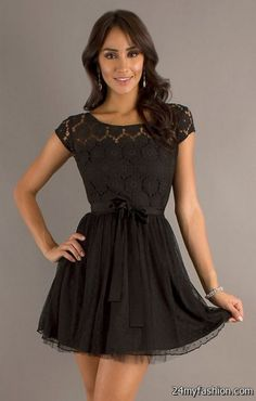 Awesome Black lace dresses for juniors 2018-2019 Check more at http://myclothestrend.com/dresses-review/black-lace-dresses-for-juniors-2018-2019/