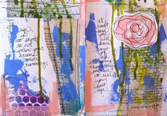 A Girl and Her Brush-painter and journal artist