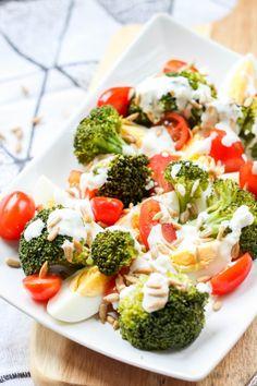 Broccoli, Salad Recipes, Snacks, Vegetables, Impreza, Food, Salads, Recipes, Essen