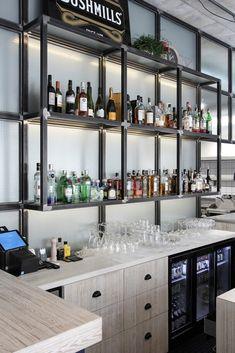 Gallery Of DOCK / Ramūnas Manikas   7. Bar CounterRestaurant ...