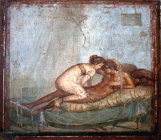*POMPEII, ITALY ~ | 파일:Pompeii - Casa del Centenario - Cubiculum.jpg - 위키백과 ...