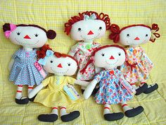 Discussion on LiveInternet - Russian Service Online diary Hello Dolly, Hello Kitty, Raggedy Ann And Andy, Soft Dolls, Some Pictures, Softies, Doll Patterns, Sewing Hacks, Fun Crafts