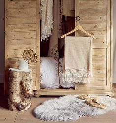 This beautiful, rustic-looking storage from our AW16 trend of Rustic Romance is a great way to keep you organised!