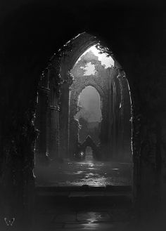 Tintern Abbey By Charlie Bowater