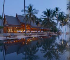 I once stayed at the Amanpuri resort in Phuket, Thailand, which was later destroyed by the 2004 tsunami.