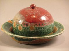 French Butter Dish by RosylouPottery on Etsy, $12.00