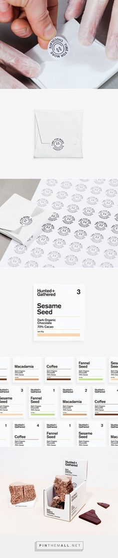 Hunted & Gathered on Behance - created via https://pinthemall.net