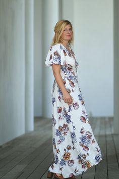 Summer Dawn Wrap Dress PDF Pattern Women XS-XXXL