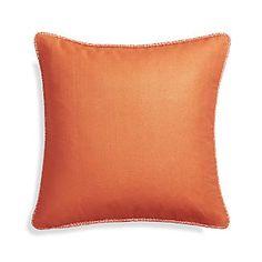 "Dorsay Orange 18"" Pillow"