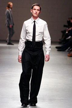 Raf Simons Fall 2005 Menswear Collection - Vogue