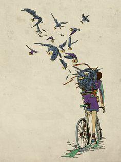 Illustration vol. II shared by Art ρєαcє☮ on We Heart It