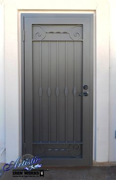 Poppins - Wrought Iron Security Screen Door - Model: SD0273