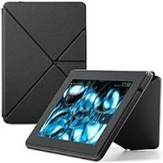 Amazon 53-000789 Kindle Fire HD Standing Origami Case - Black