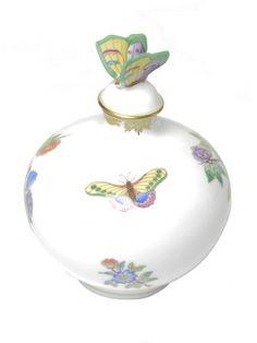 Herend Perfume Bottle on Elizabeth Nichol's vanity in House Beautiful Magazine