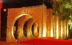 Bharat Kiraya Bhandar a company that make your occasion special through Planning & Wedding or Event Management services sets the benchmark in hospitality. Wedding Walkway, Wedding Ceremony Chairs, Wedding Entrance, Wedding Mandap, Entrance Decor, Desi Wedding, Wedding Backdrop Design, Wedding Stage Design, Wedding Stage Decorations