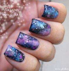 miss phibes. Galaxy nails.