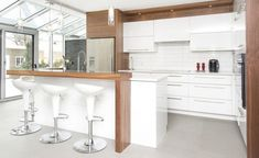 cocinas blancas lacadas | inspiración de diseño de interiores