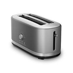 KitchenAid KMT4116CU 4 Slice Long Slot Toaster with High Lift Lever, Contour Silver KitchenAid http://www.amazon.com/dp/B00Y2KFZUE/ref=cm_sw_r_pi_dp_ub-Lwb1KAX787