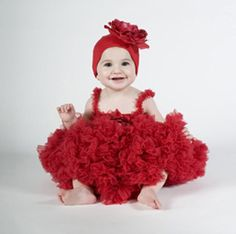 Red Frilly Sleeveless Dress For Kids @Looksgud.in #Red, #Dress
