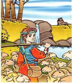 Confira a Aula Bíblica Berçário #14 (Un. 4) - Saul e Davi, para bebês de até 1 ano e 6 meses. Esta é a Unidade 4 - Histórias Bíblias.