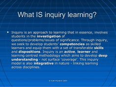 inquiry cycle kath murdoch - Google Search