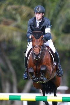 Scott Brash & Hello Annie competing @ the Wellington FTI Winter Festival 2014