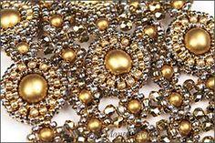 Elizabethan Cuff : Manek-Manek Beads - Jewelry | Kits | Beads | Patterns