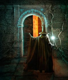 The Door to Moria by kimsol.deviantart.com on @deviantART